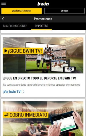 Sigue Bwin TV