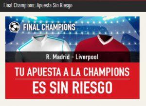 Apuestas a la final de la Champions