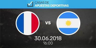 Pronósticos de apuestas Francia - Argentina, el Mundial en Bwin