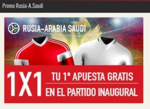 Promoción para el Mundial - Haz tus apuestas en Sportium