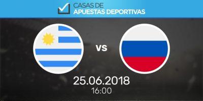 Predicciones de apuestas para el Mundial: Uruguay - Rusia