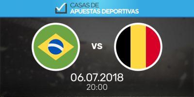 Pronósticos de apuestas Brasil - Bélgica