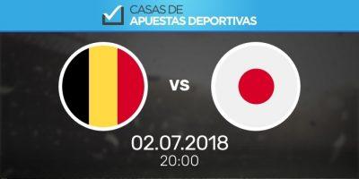 Pronósticos de apuestas Japón - Bélgica, Mundial de Rusia
