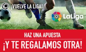 Apuestas LaLiga en Sportium, nuevas promociones de fútbol