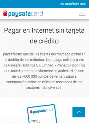 Imagen de Paysafecard, metodo de pago popular en las casas de apuestas online
