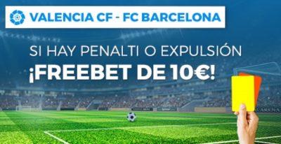 Promociones Paston para tus apuestas Valencia Barcelona