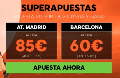 Superapuestas 888sport: Atlético de Madrid - Barcelona