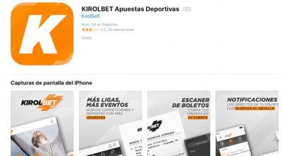 Descargar Kirolbet app desde el App Store