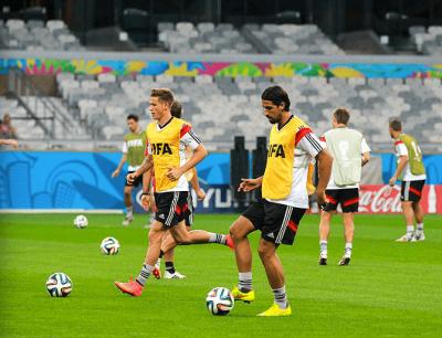 Cuotas Alemania Serbia, imagen entrenamiento seleccion alemana.