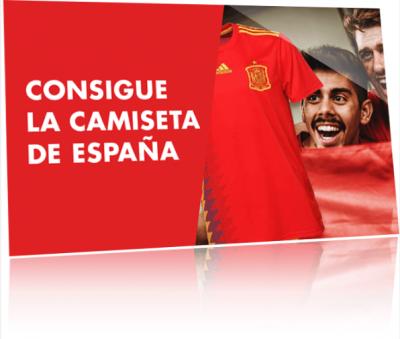 Consigue camiseta con la promoción de apuestas para el Malta - España de Circus