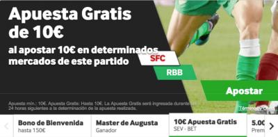 Promo Betway para las apuestas del Sevilla - Betis de LaLiga