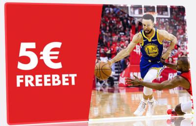 Promo Circus: 5 euros Freebet en apuestas a los playoffs de la NBA