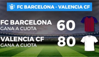 Promoción de Pastón en las cuotas del Barcelona Valencia - Final de Copa del Rey 2019
