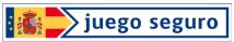 Logo de Juego Seguro. Apuesta con responsabilidad