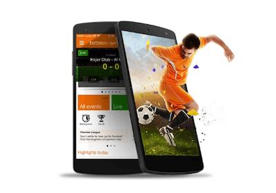 Aplicacion de Betsson en android - apuestas deportivas