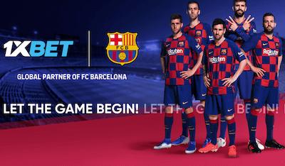 Como entrar en 1xbet, partner del Barcelona en España