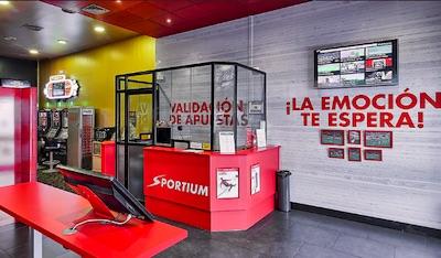 Sportium, casa con locales de apuestas deportivas