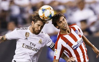 Derbi Real Madrid vs Atletico de Madrid | Ramos y Joao Felix