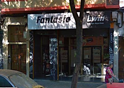 Salon Fantasía, local de apuestas Bwin en Zaragoza