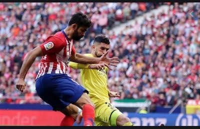 Cuotas y Pronostico del Atletico de Madrid vs Villarreal de LaLiga