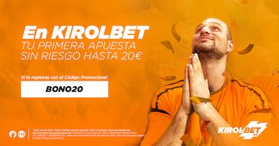 Aprovecha el BONO20 en Kirolbet para la Premier League