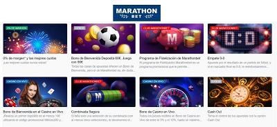Marathonbet promociones de apuestas