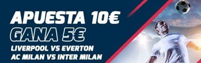 Tus apuestas al Milan - Inter tienen premio en Betfred