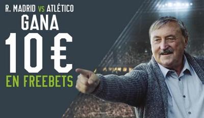 apuestas real madrid atleti 10€ gratis en Codere
