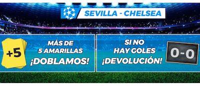 Pronostico 0-0: promocion apuestas Sevilla vs Chelsea en Pastón