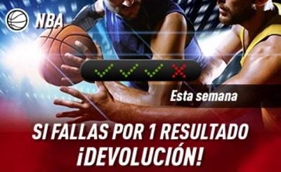 promo Sportium para tus apuestas combinadas de NBA