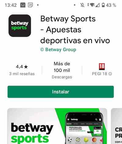 Betway App en la Play Store para android