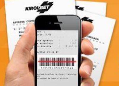 Kirolbet como cobrar desde la app