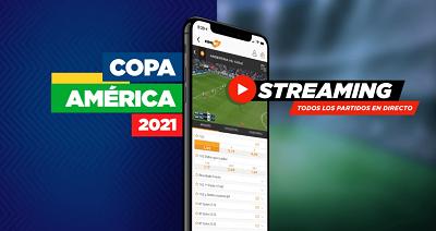 Disfruta de las apuestas a la Copa America 2021 con los streamings de Kirolbet