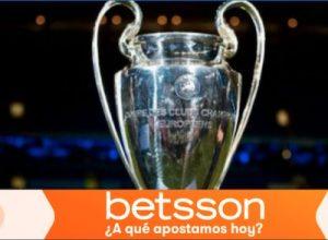 Descubre los favoritos en Betsson Apuestas a la Champions League de 2022